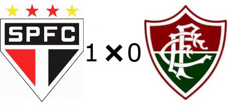 São Paulo 1x0 Fluminense - Ficou indefinido para o Maracanã