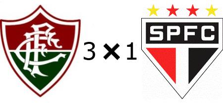 Fluminense 3x1 São Paulo - Vitória Épica do Tricolor