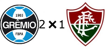 Grêmio 2x1 Fluminense
