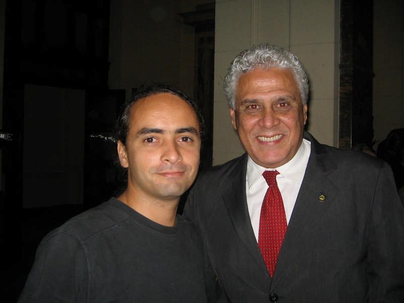 Saulo Paixão e Roberto Dinamite