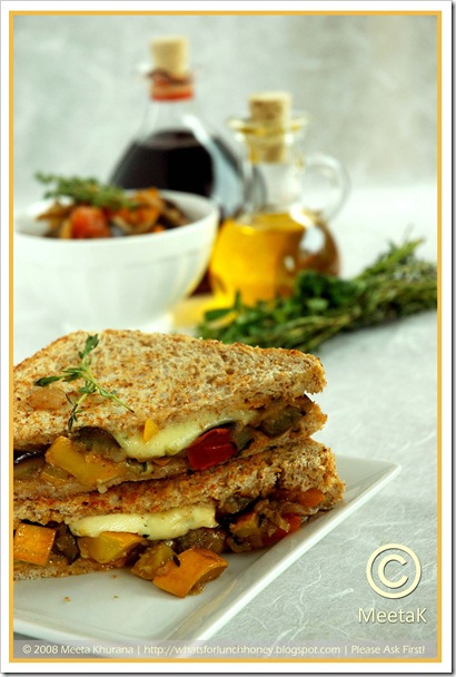 Caponata Sandwiches (01) by MeetaK