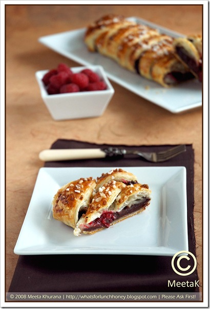 Chocolate Raspberry Danish Braid (03) by MeetaK