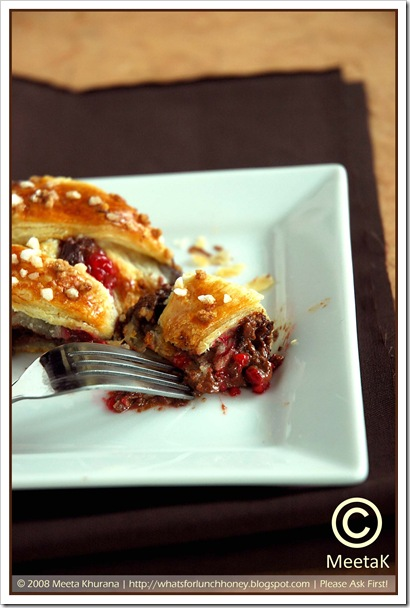 Chocolate Raspberry Danish Braid (05) by MeetaK