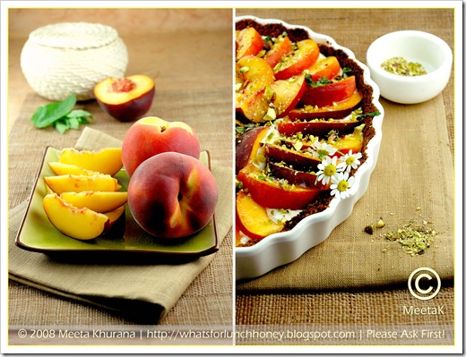 Peach Tart Diptych (01) by MeetaK