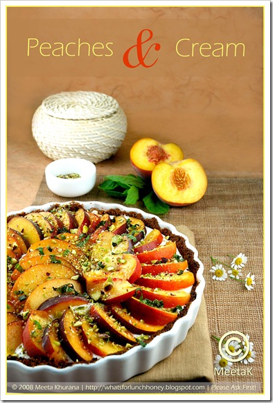 Peach Goat Cheese Tart (01) by MeetaK