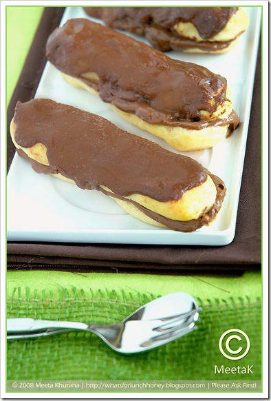 Choc Eclairs (02) by MeetaK
