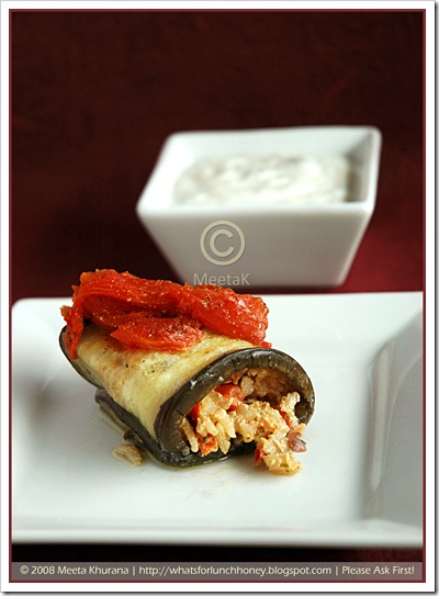 Aubergine Rolls-Dolma (01) by MeetaK