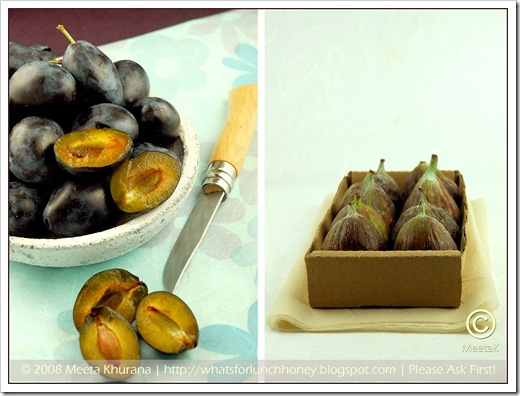 Fig Plum Diptych (01) by MeetaK