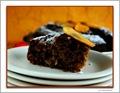 Persimmon Spice Cake - Slice