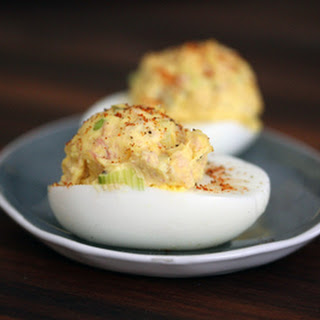 Deviled Eggs With Ham