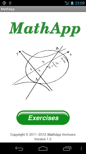 MathApp - Math Exercises