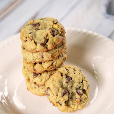 Chocolate Chocolate Chip Pistachio Cookies With Toffee Bits Recipes ...