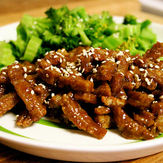 Crispy Sweet and Sour Seitan