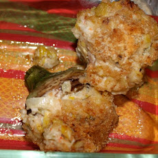 Lobster and Leek Stuffed Artichokes