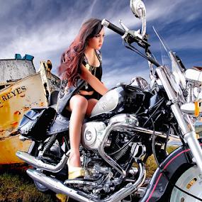 Sexi Bikers by Cevi Permana - Digital Art People