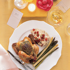 Herb-Roasted Cornish Game Hens
