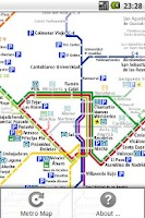 Screenshot of Madrid RailMaps