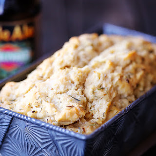 Whole Wheat Garlic Herb Beer Bread
