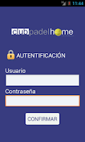 Screenshot of Club Padel Home Avila
