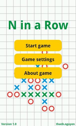 N in a Row