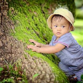 Under the tree by Darlis Herumurti - Babies & Children Children Candids