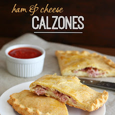 Ham & Cheese Calzones – Low Carb and Gluten-Free