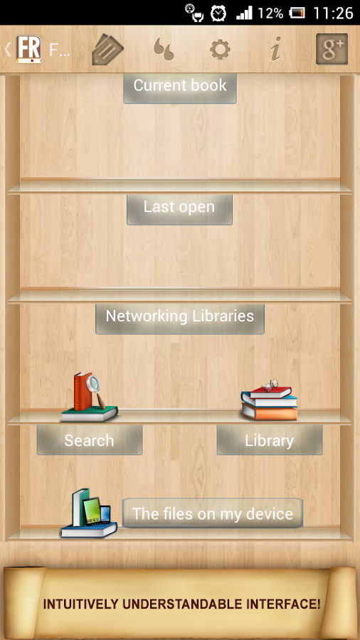 FullReader+ all formats reader Screenshot 0