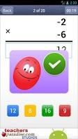 Screenshot of Math Practice Flash Cards PRO