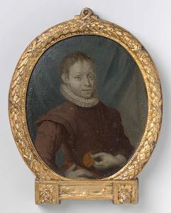 RIJKS: Arnoud van Halen: painting 1719