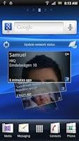 Screenshot of Foursquare™ Timescape™