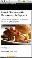 Screenshot of Diet Watcher Cookbook