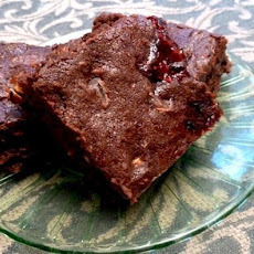 Fudge Raspberry Brownies