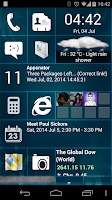 Screenshot of Home8 like Windows8 launcher
