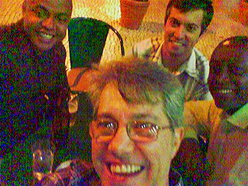 Leandro, Marcio, Ralf (UDP) e servidor