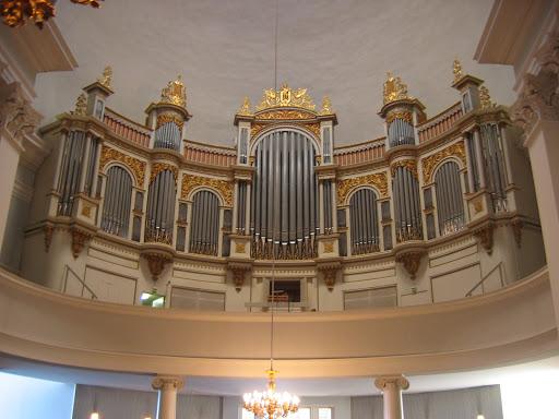 l'orgue de la cathédrale d'Helsinki