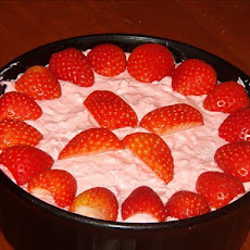 Strawberry Jello Fluff Dessert