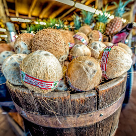 Coconut Drink by Max Juan - Food & Drink Fruits & Vegetables ( d810, coconut, california )