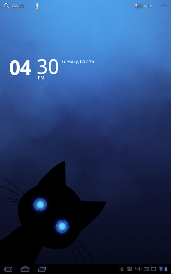 Stalker Cat Live Wallpaper Lt Screenshot
