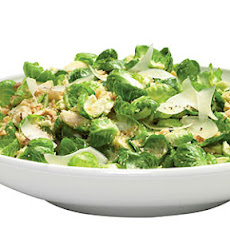 Nutty Warm Brussels Sprouts Salad