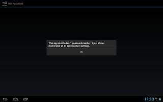 Screenshot of Wifi Password(ROOT)