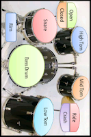 Screenshot of Drums