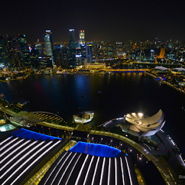 Amazing Singapore by Rudy Amin - City,  Street & Park  Skylines