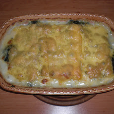 Potato and Spinach Bake