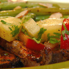 Chili-Seared Pork with Pineapple Salsa