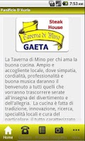 Screenshot of La Taverna di Mino