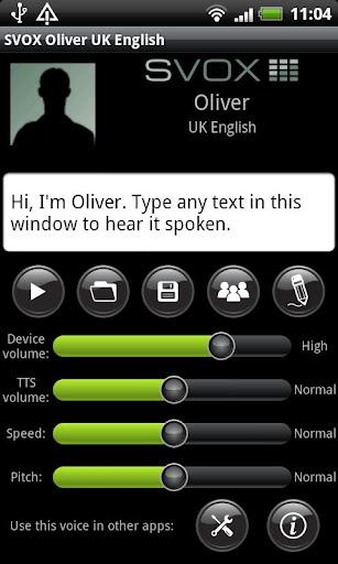 SVOX UK English Oliver Trial