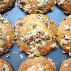 Chocolate Chunk Muffins with Cocoa Nib Streusel