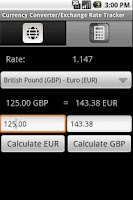 Screenshot of Currency Converter / Fx Rates