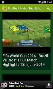 highlight football match