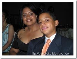 Anita Justo e hijo